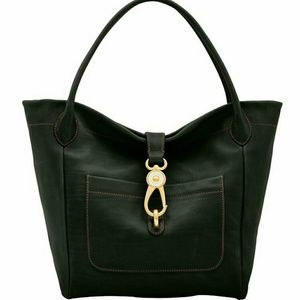 Dooney and Bourke Florentine tote with lock.